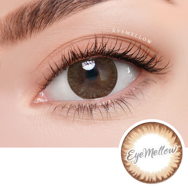 Moist Sweet Brown Colored Contact Lenses - Silicone Hydrogel