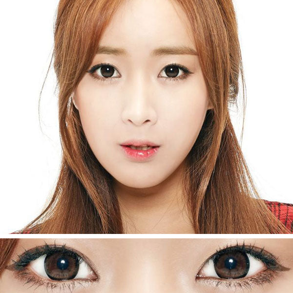 Moonlight Brown Colored Contact Lenses (Hyperopia)