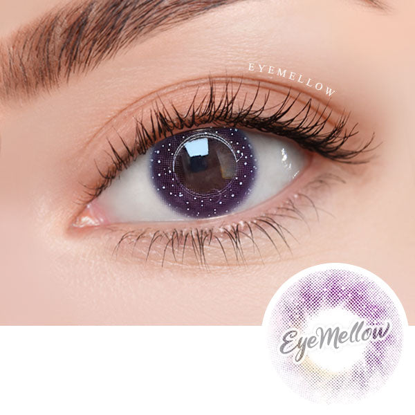 Moon Prism Violet Colored Contact Lenses