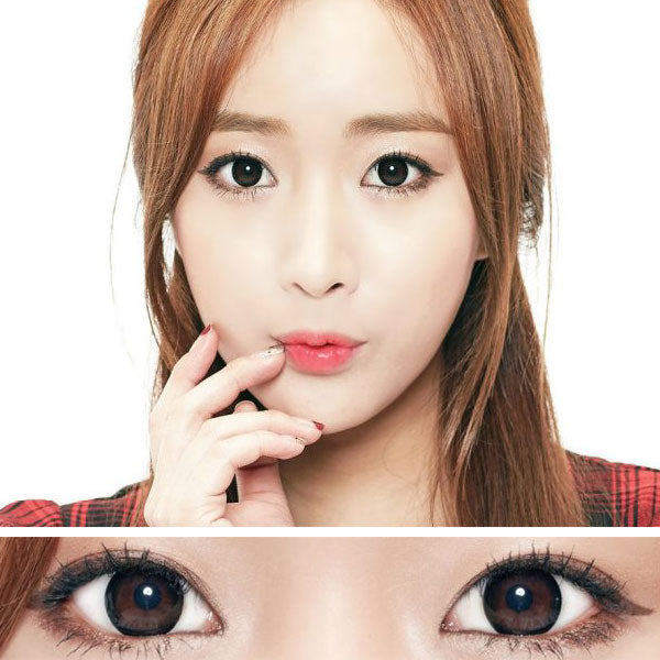 Moonlight Black Colored Contact Lenses (Toric)