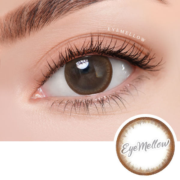 Moonlight Chocolate Colored Contact Lenses (Hyperopia)