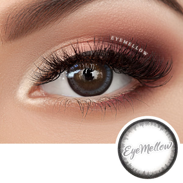 Moonlight Gray Colored Contact Lenses (Hyperopia)