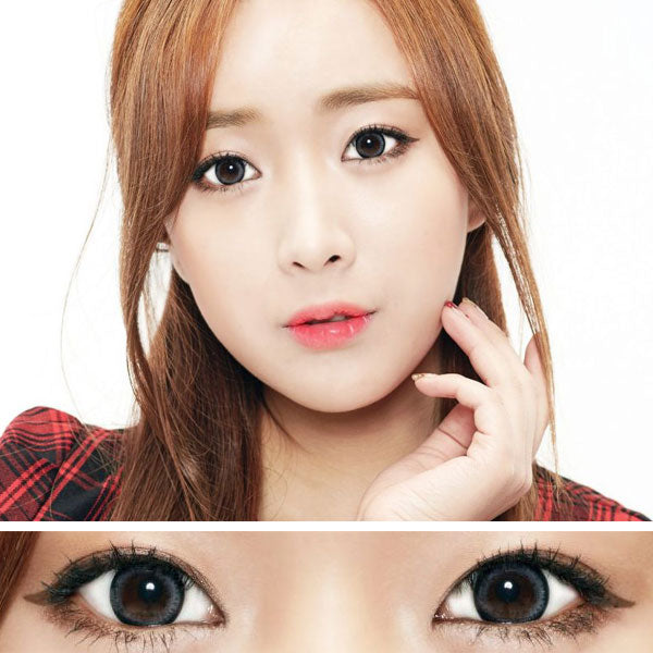 Moonlight Gray Colored Contact Lenses (Toric)