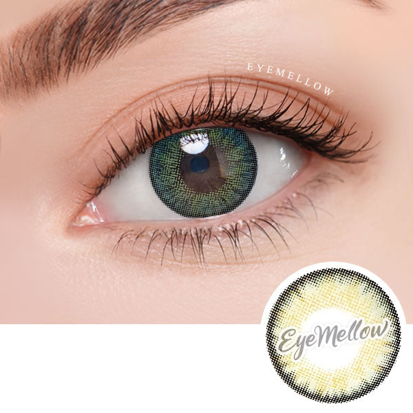 Neo Pastel Yellow Green Colored Contact Lenses (Toric)