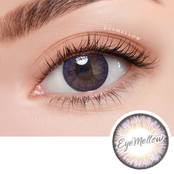 Neo Pastel Yellow Pink Colored Contact Lenses (Hyperopia)