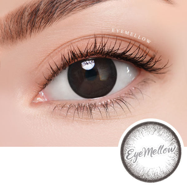 Pure Circle Black Colored Contact Lenses (Hyperopia)