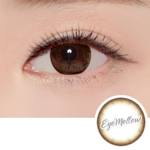 Soft Chocolate Brown Colored Contact Lenses (Toric)