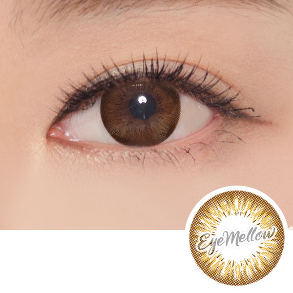 Sunflower Brown Colored Contact Lenses (Toric)