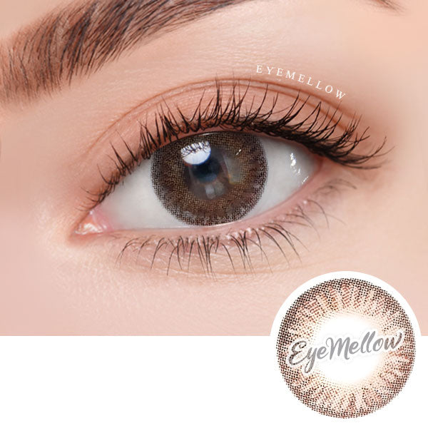 Tria Brown Colored Contact Lenses (Toric)