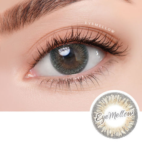 Tria Greenish Gray Colored Contact Lenses (Toric)