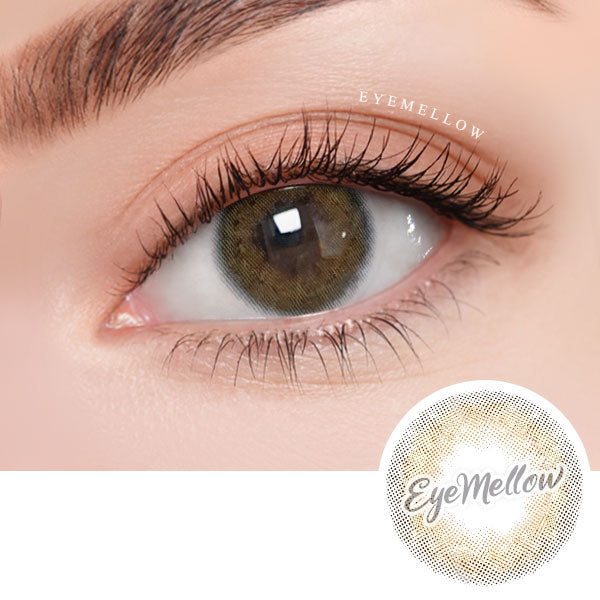 [1+1][1Day] Twinkle Bell Hazel Brown Daily Colored Contacts (20Lenses)