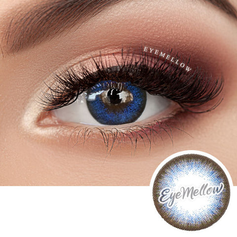 Vovo Blue Colored Contact Lenses (Toric)