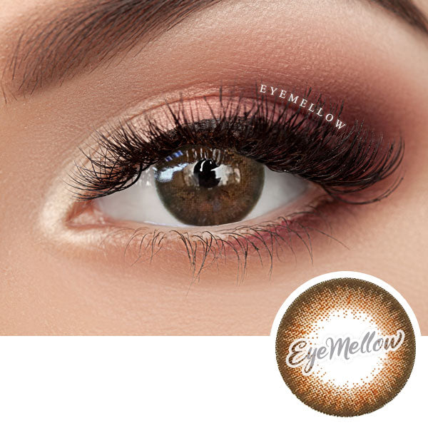 Vovo Brown Colored Contact Lenses (Hyperopia)