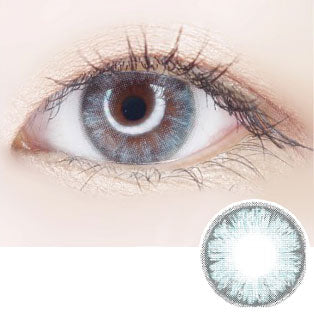 [1+1][Monthly] Zipcy Glory Blue Colored Contacts (4Lenses)