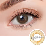 [1+1] EyesCream Winki Brown Colored Contact Lenses - Silicone Hydrogel