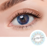 [1+1] IWWI Placide Blue Colored Contact Lenses