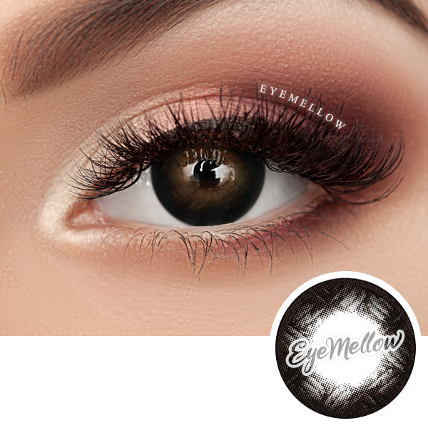 Black Rose Colored Contact Lenses - Silicone hydrogel