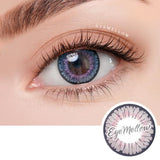 Floria Gray Colored Contact Lenses