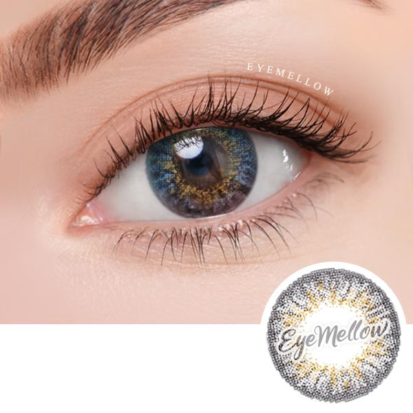 [1+1] Ocho Gray Colored Contact Lenses - Silicone hydrogel