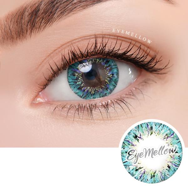Shooting Star Blue Colored Contact Lenses (Toric)