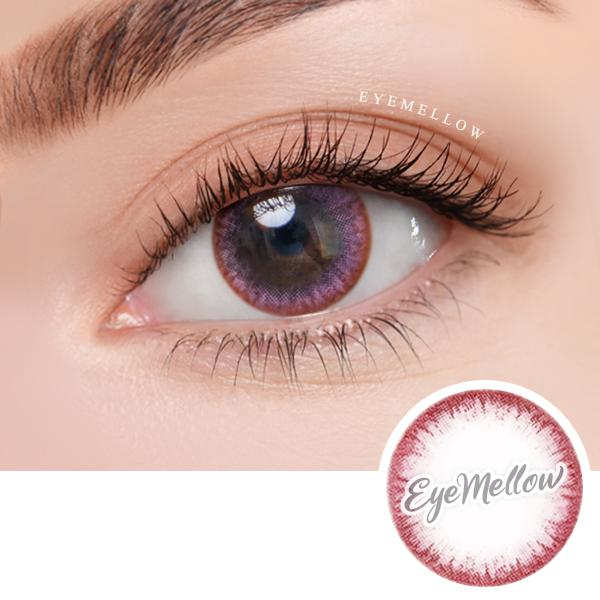 Chic Line Pink Colored Contact Lenses
