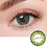 Blossom Party Green Colored Contacts