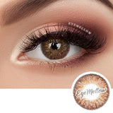 [1+1] Ocho Brown Colored Contact Lenses - Silicone hydrogel