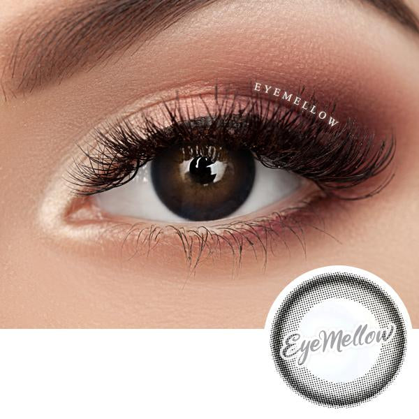 Black Ring Colored Contact Lenses (Toric)