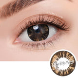 Wild Brownblack Colored Contact Lenses