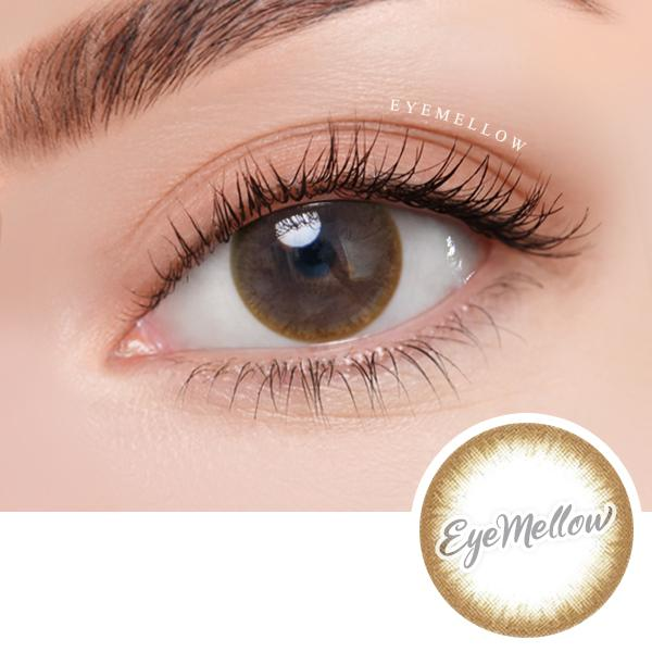 Chic Line Brown Colored Contact Lenses