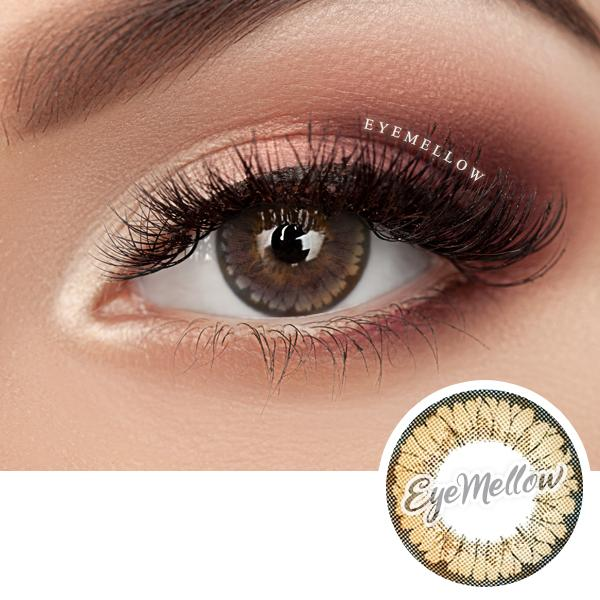 Floria Brown Colored Contact Lenses