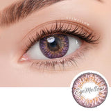 [1+1] Ocho Pink Colored Contact Lenses - Silicone hydrogel