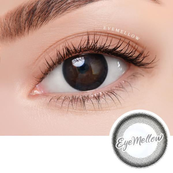 Black Ring Colored Contact Lenses