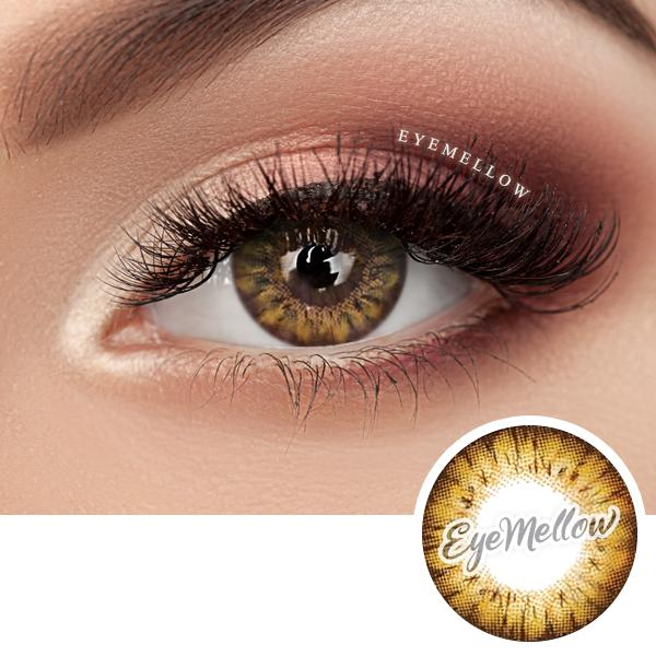 Blossom Party Brown Colored Contacts