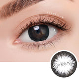 Crystal Black Colored Contact Lenses (Toric)