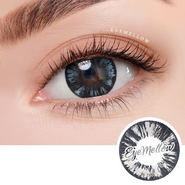 Wild Grayblack Colored Contact Lenses