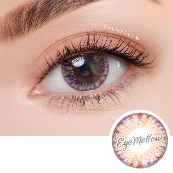 Pastel Prism Pink Colored Contact Lenses