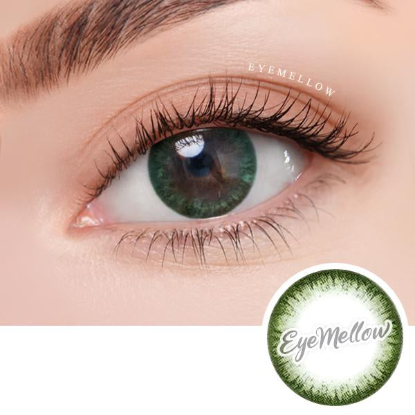 Chic Line Green Colored Contact Lenses