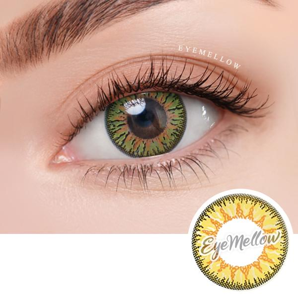 Pierr Yellow Colored Contact Lenses