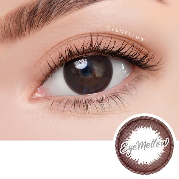 Fall In Chocolate Colored Contact Lenses (Hyperopia)