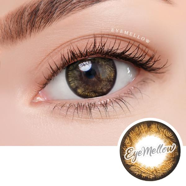 Max Brown Colored Contact Lenses - Silicone hydrogel