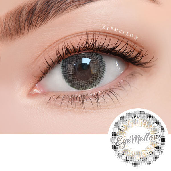 [1+1][Monthly] Wannaful Heyday Gray Colored Contacts (4Lenses)