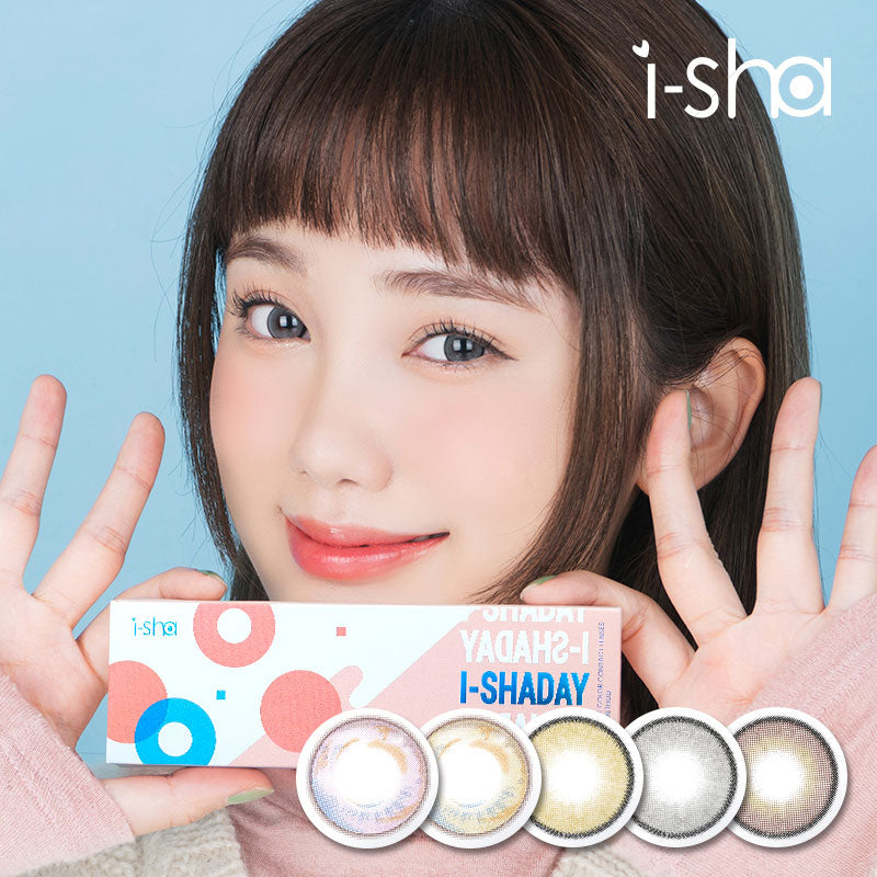 [1Day/10Lenses] i-ShaDay 5Style Colored Contact Lenses