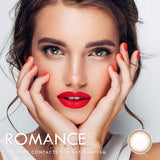 Romance Brown Colored Contact Lenses