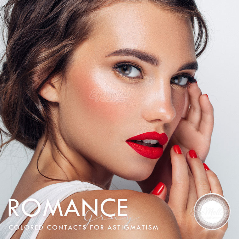Romance Gray Colored Contact Lenses