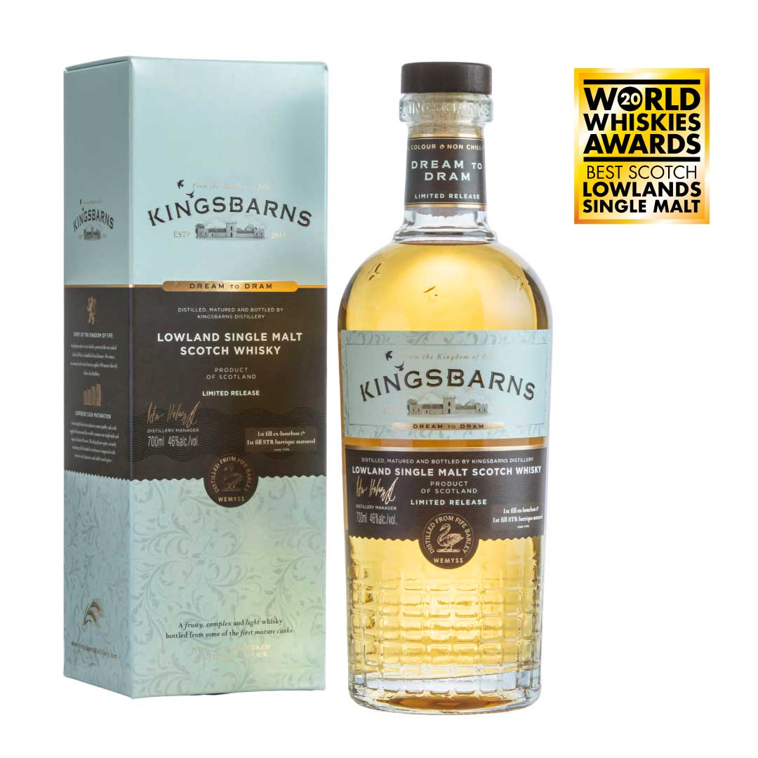 Dream to Dram 70cl with Free Glencairn Glass (UK Only)