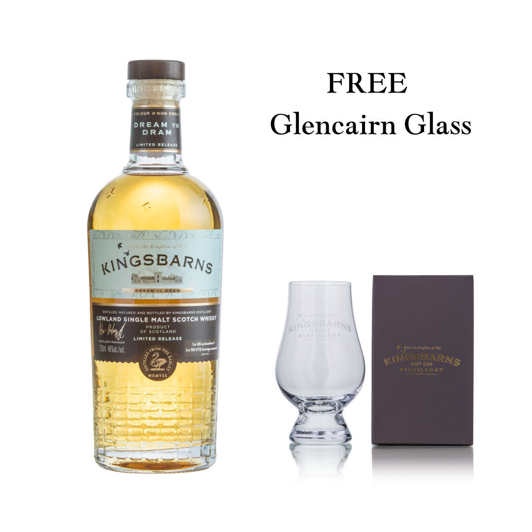 Dream to Dram 70cl with Free Glencairn Glass