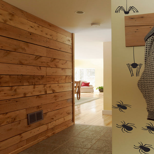Spider Pack Of Wall Stickers
