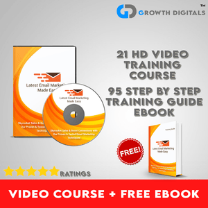 Email Marketing Video Course + Free eBook Training Guide