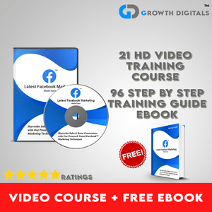 FB Marketing Video Course + Free eBook Training Guide